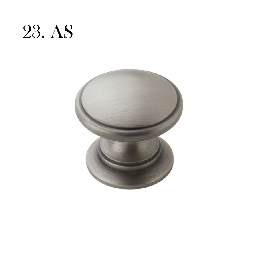 Hardware 23 A53012 As Antique Silver With Label