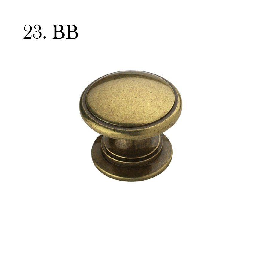 Hardware 23 A53012 Bb Burnished Brass With Label