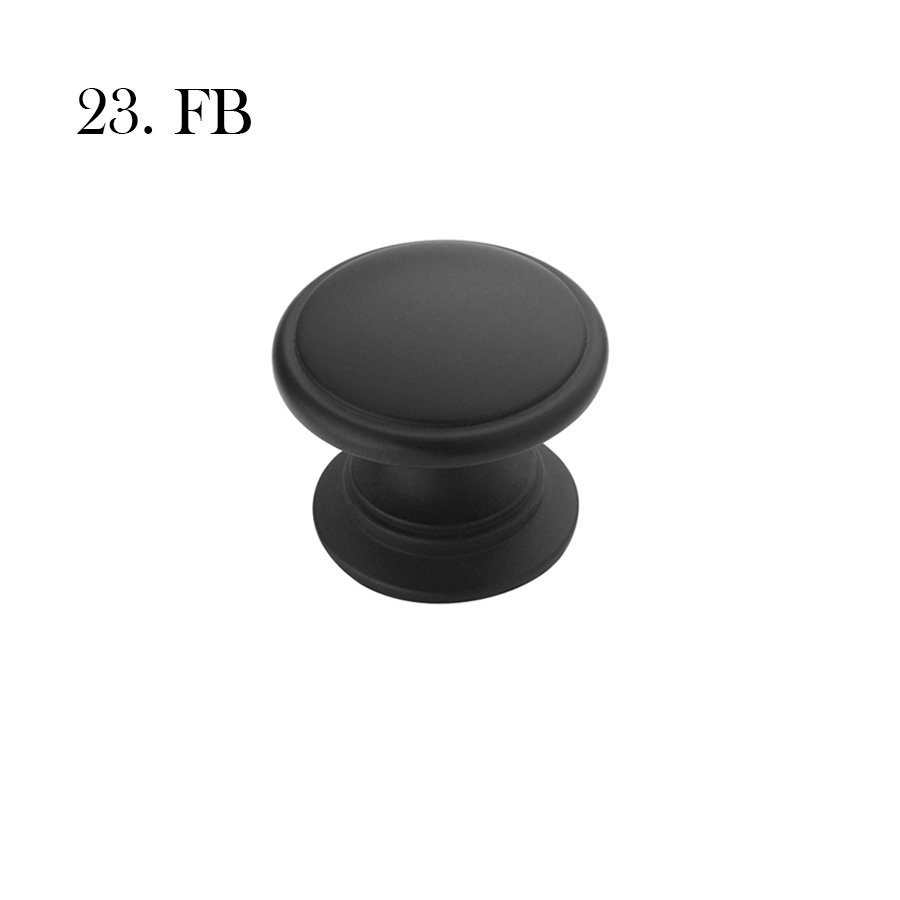 Hardware 23 A53012 Fb Flat Black With Label