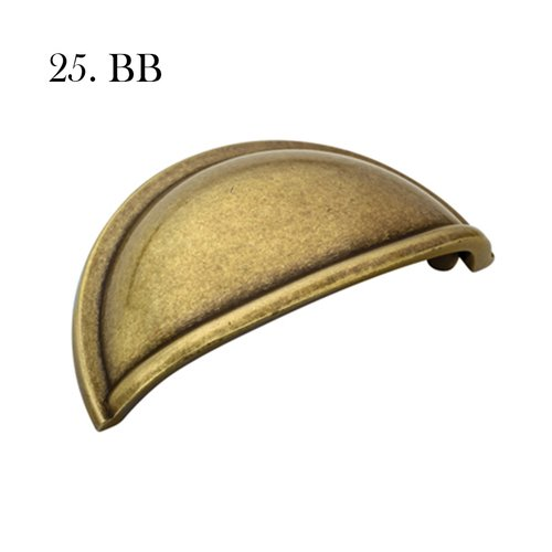 Hardware 25 A53010 Bb Burnished Brass With Label