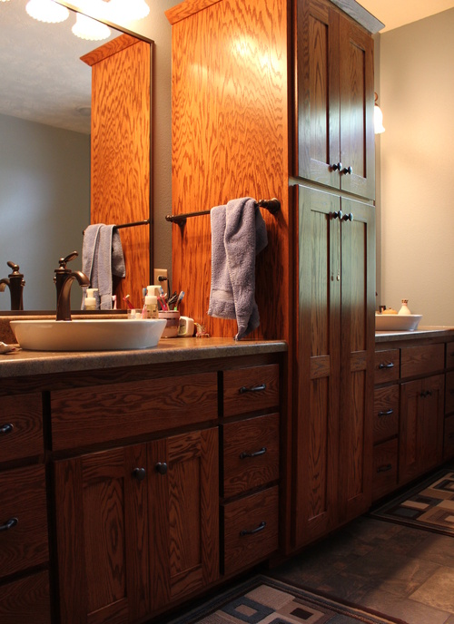 Bathroom Fruit Wood Oak Laminate