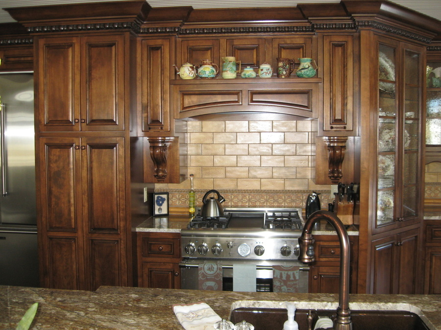 Kitchen Fruitwood Birch Granite 3