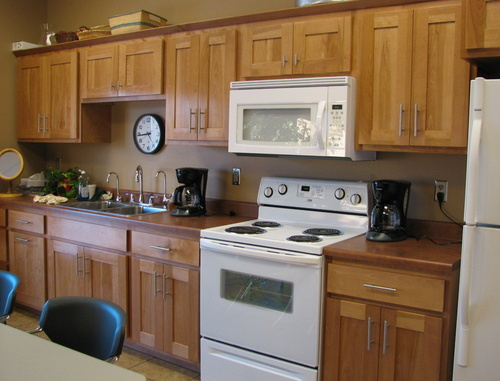 Kitchen Honey Birch Laminate 1