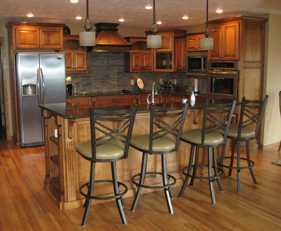 Kitchen Teak Birch Granite 3