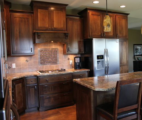 Kitchen Truffle Birch Laminate 7