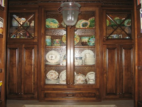 Kitchen Fruitwood Glaze Alder Laminate Walk In Pantry 2