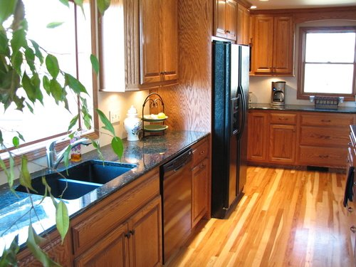 Kitchen Fruitwood Oak Granite 1