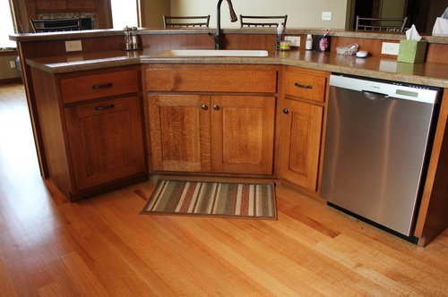 Kitchen Fruitwood Quartersawnoak Laminate 2