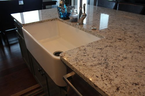 Kitchen Painted Birch Granite 25