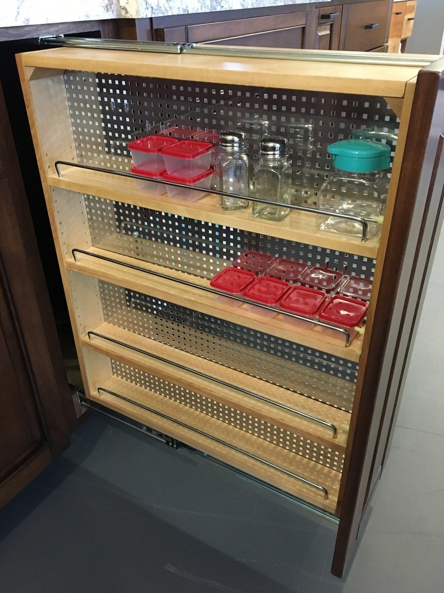 Accessory Pull Out Spice Rack